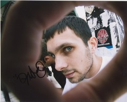 Dynamo AUTOGRAPH Magician Impossible SIGNED IN PERSON 10x8 photo