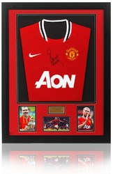 Paul Scholes Hand Signed Manchester United Framed Shirt