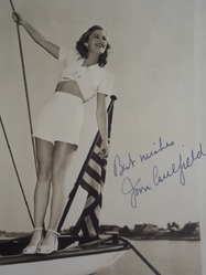 Caulfield, Joan - authentic autograph