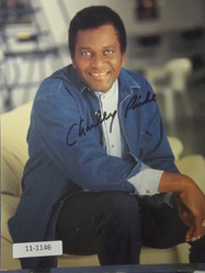 Pride, Charles  - authentic autograph