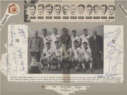 Busby Babes Man Utd 1956/57 SIGNED BABES AUTOGRAPHS
