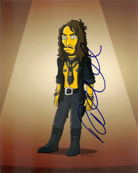 Russell Brand signed 10x8 photo.