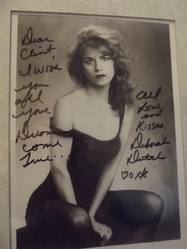 Dutch, Deborah - authentic autograph
