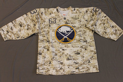 Tyler Ennis Buffalo Sabres Special Edition Camouflage Jersey Size 52