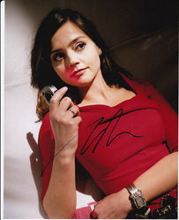 Jenna Louise Coleman Autograph DR WHO signed in person 10 x 8 photo