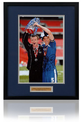 Tony Craig & Paul Robinson hand signed Millwall photo