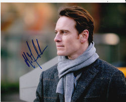 Michael Fassbender Signed Shame 10x8 Photo