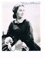 Olivia DeHaviland Signed Photo