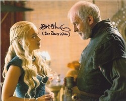Ian McElhinney Autograph Game Of Thrones signed in person 10x8 photo