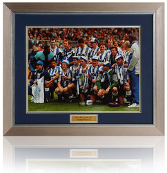 "Trevor Francis hand signed 16x12"" Wednesday Cup Photograph"