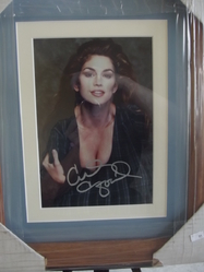 Crawford, Cindy - model and entrepreneur - authentic autograph