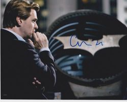 Christopher Nolan Autograph The Dark Knight signed in person 10 x 8 photo