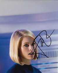 Alice Eve Autograph STAR TREK INTO DARKNESS signed in person 10x8 photo
