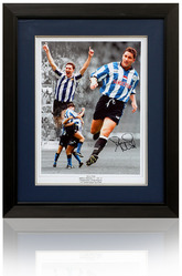 David Hirst Sheffield Wednesday Hand Signed Montage