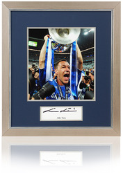 JOHN TERRY Hand Signed Chelsea FC Champions League Framed Presentation