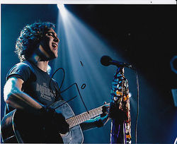 Diego Boneta Autograph ROCK OF AGES signed in person 10 x 8 photo