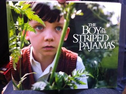 Asa Butterfield Autograph The Boy In The Stripped Pajamas Signed In Person 10x8 Photo