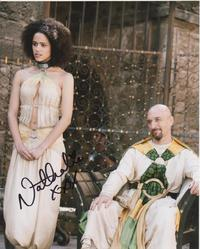 Nathalie Emmanuel Autograph Game Of Thrones signed in person 10x8 photo
