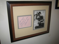 William Holden Autograph