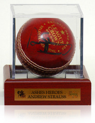 Andrew Strauss Hand Signed Cricket Ball