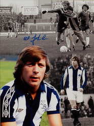 Willie Johnston WBA Hand Signed Montage