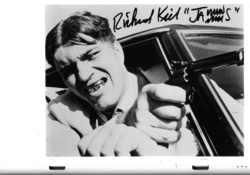 Richard Kiel as Jaws a Bond villiam's henchman 11-0227