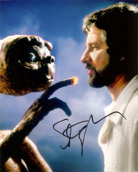 Steven Spielberg signed 10x8 photo