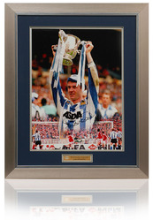 John Sheridan 1991 Rumbelows Cup Final Hand Signed Montage