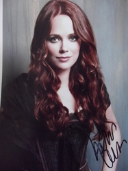 Winter, Katia - authentic autograph - Sleepy Hollow -  Dexter