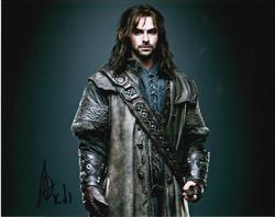 Aiden Turner Autograph The HOBBIT signed in person 10x8 photo