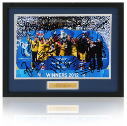 KILMARNOCK Scottish League Cup Winners Squad Hand Signed photo