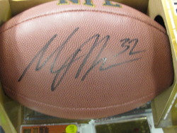 Maurice Jones-Drew signed football
