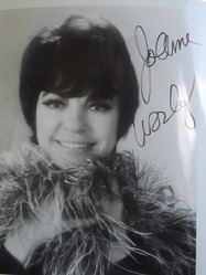 Worley, JoAnn - Laugh-in - authentic autograph