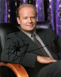 Kelsey Grammer signed 10x8 photo