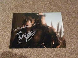 Ian Beattie Autograph Game Of Thrones signed in person 10 x 8 photo