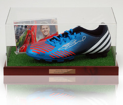 Steven Gerrard Hand Signed Football Boot