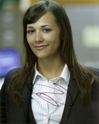 Rashida Jones signed 10x8 photo.
