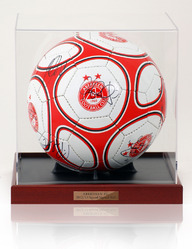 ABERDEEN F.C. 2012/13 Squad Hand Signed Football