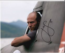 Jason Statham Signed Expendables 10x8 Photo