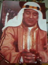 Edward De Souza as Sheik Hussein a Bond villian