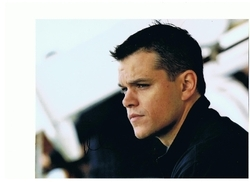 Matt Damon in The Bourne Identity Signed 10x8 Photo