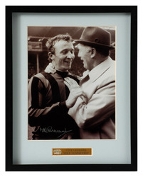 Mike Summerbee Manchester City Hand Signed Photo