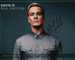Michael Fassbender Signed Prometheus 10x8 Photo
