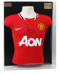 Paul Scholes Signed Manchester United Shirt