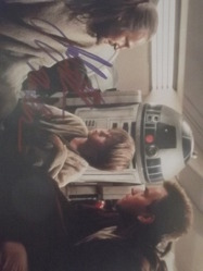 Lloyd, Jake - authentic autograph as Anakin Skywalker