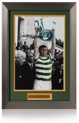 Billy McNeill Signed Celtic Lisbon Lions 1967 European Cup photo
