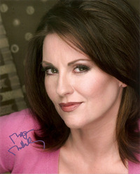 Megan Mullally signed 10x8 photo