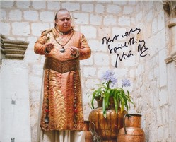 Nicholas Blane Signed Game Of Thrones 10x8 Photo