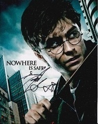 Daniel Radcliffe Autograph Harry Potter Signed In Person 10x8 Photo