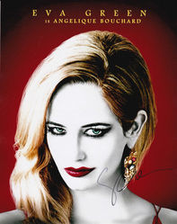 Eva Green Signed Dark Shadows 10x8 Photo